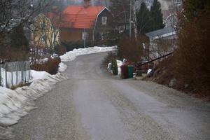 Enligt vad Fredrik Larsson hört ska söndagens händelse ha inträffat vid följande backe på Valsverksvägen.