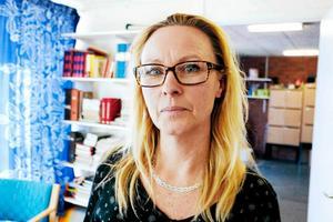 Anette Almström Kovacic, ordförande i Lärarförbundet i Sandviken.