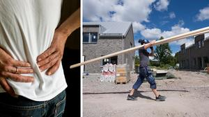 Att personer som sliter ont i ett helt yrkesliv kan tvingas leva på allmosor resten av livet är inte klokt, menar skribenten. Bild: Christine Olsson/TT / Fredrik Sandberg/TT