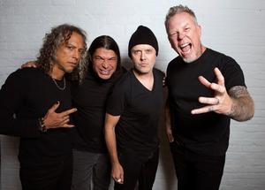 Metallica år 2016. ArkivbildFoto: Charles Sykes