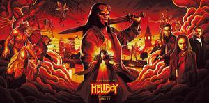 Pressbild. Hellboy - den
