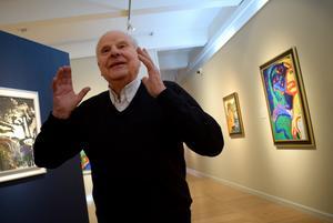 Curt Aspelin har skrivit en bok om konstsvindeln och de efterföljande rättsprocesserna.
