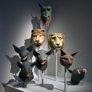Arne Högsander skapade maskerna till Ingmar Bergmans filmatisering av Mozarts opera