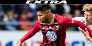 Det blir inget spel i derbyt för Hosam Aiesh.