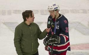 Niklas Damm Åberg var tillbaka i spel när Sura vann. Bild: Skärmklipp