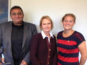 Catrin Steen (MP), längst till höger.