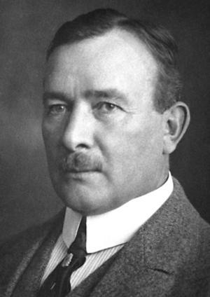 Erik Axel Karlfeldt 1931. Foto: Nobelstiftelsen