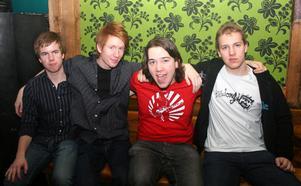 Konrad. Alexander, Jakob, Alexander och Sami
