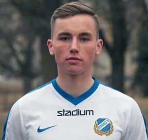 Alexander Hallin,  ungt nyförvärv som kommer från division ett-klubben Rynninge IK.  Foto: YIKs hemsida.