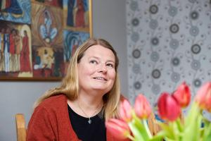 Christina Eriksson, kyrkoherde Falu pastorat. Tidigare kyrkoherde i Göteborg, Lundby och Biskopsgården, och i Gävle.