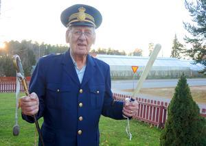 Olle Nygren är f d polis i Leksand och var den som under flera decennier såg till att det var ordning och reda i bygden. Den 27 november fyllde Olle 90 år.