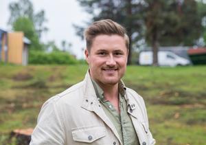 Tom Sakofall är glad över att kunna bistå Ludvika med tio nya bostadsrätter.