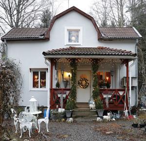 Julen har landat hemma hos familjen Olme i Ramsberg.