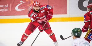 Patrik Karlkvist har hittat poängformen lagom till derbyt mot Björklöven.Bild: Izabelle Nordfjell