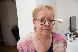 """""""Jag flyttade in i lördags. Lägenheten är på två rum och kök"""", berättar Birgitta Bergstrand."""