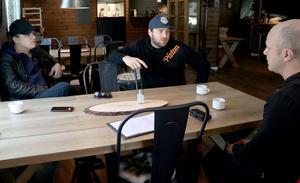 Under fredagen öppnade Robert Petterssons, Christoffer Anderssons och Mikael Jönssons restaurang. Bilden är tagen vid ett tidigare tillfälle.