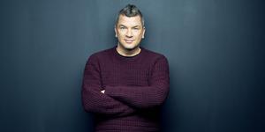 Författaren Mats Strandberg från Fagersta är en av årets sommarpratare. Foto: Henric Lindsten