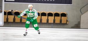 Martin Landström ersätter Villa Lidköpings Joakim Andersson i fyrnationsturneringen med landslaget i helgen.