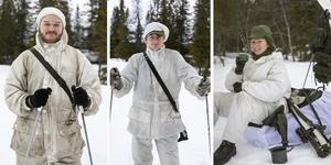 Under fredagen tillbringade kadetter från hela Sverige sin tid på en myr i Ånn.