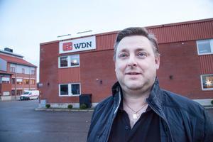 Magnus Johansson, delägare i WDN Data och ledamot i Näringens företagarförening.