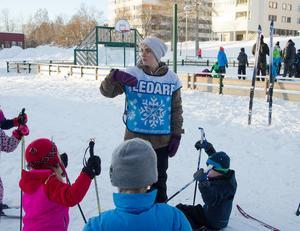 Johanna Nilsson, vikarierande fritidspedagog på Arnljotskolan, har sett positiva effekter av