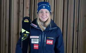 Elsa Fermbäck får chansen i världscupen. Foto: Klas Rockberg/Svenska Skidförbundet