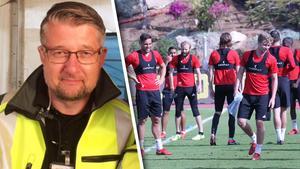 ÖFK-läkaren Jan Hansson räddade livet på en man på Arlanda.