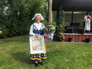 Marie-Louise Rabb fick utmärkelsen