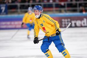 Daniel Berlin – VM:s bäste spelare.Foto: Rikard Bäckman / Bandypuls.se / TT