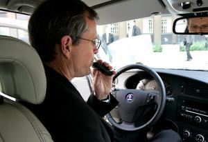 Alkolås är en teknik som gör att bilen inte går att starta om det finns alkohol i förarens utandningsluft. Bild: Anders Wiklund