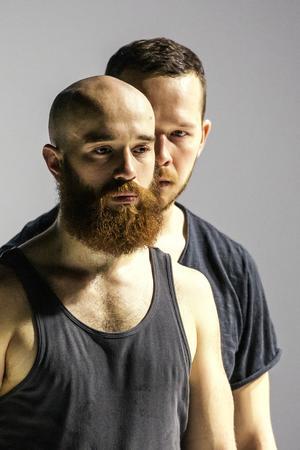 Peter Svenzon inspirerades av Svart invärtes för sin koreografi. Foto: Lia Jacobi