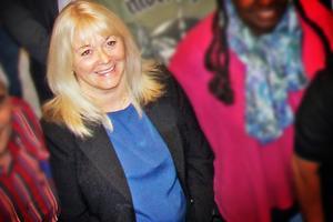 Christina Ung (S), styrelseordförande vid Bollnäs energi. /Arkivbild