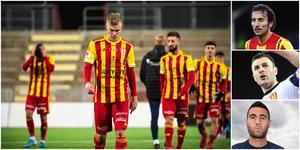Syrianska rasade ur superettan. Nu tycker flera klubbprofiler till om läget för laget. Foto från Bildbyrån, Mittmedia och TT.