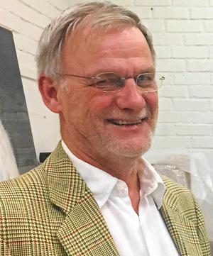 Leif Jonsson, ordförande i Konstfrämjandet Västmanland.