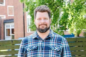 Rikard Rudolfsson (V), ordförande i kulturnämnden.