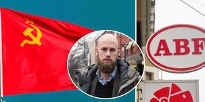 ABF får M-kritik för att de lånar ut möteslokaler till kommunister. Montagefoto: Christian Massana, Joakim Roos/TT.