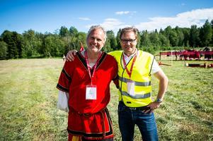 Johan Löfqvist och Tomas Svedberg.