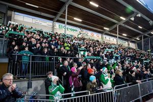 6 418 åskådare – Hammarbys bästa annandagssiffra på hela 2000-talet. FOTO: Christine Olsson