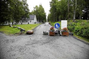 Den stängda vägen har varit en av stridsfrågorna kring museet på Murberget.