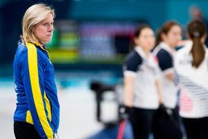 Maria Prytz är coach för lag Hasselborg. Foto: Jon Olav Nesvold / BILDBYRÅN.