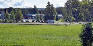 Området där kommunen ska bygga det nya demensboendet i Mockfjärd.