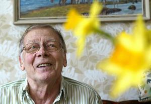 Trädgårdsprofilen Nils Åkerstedt har gått bort, 92 år gammal. Bild: Sören Wallin