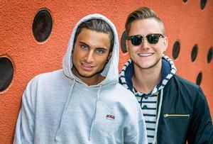 Samir & Viktor.Foto: Claudio Bresciani / TT
