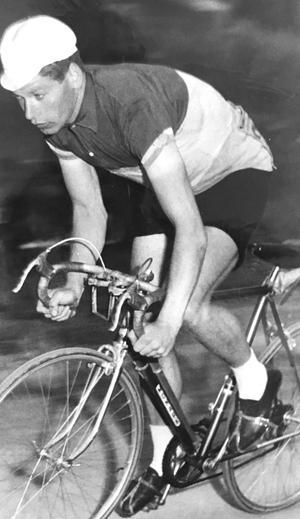 Lars Carlén, VCK, 1959. Foto: VLT:s arkiv