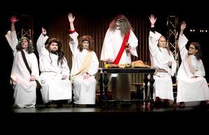 Middagsbekymmer. Jesus och hans lärjungar stötte på storaproblem när Sista måltiden skulle serveras.