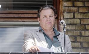 Michael Andersson är rektor på Polhemsskolan. Bilden togs 2018.