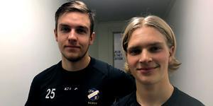 JonasSöder och Ted Hedell gjorde sina första elitseriemål på tisdagen – och sina första assist.
