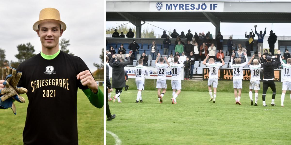 """Bengtssons monstermatch bakom Myresjö/Vetlandas avancemang: """"Äntligen"""""""