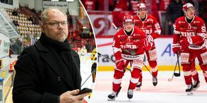 Kent Norberg. sportchef, gillar det han har fått se av talangen Gustav Nielsen. Bilder: Pär Olert/Bildbyrån