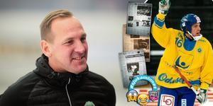 Förbundskapten Michael Carlsson minns tillbaka till det iskalla VM:et 1999.